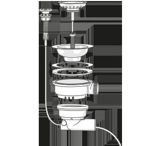 Automatic drain kit